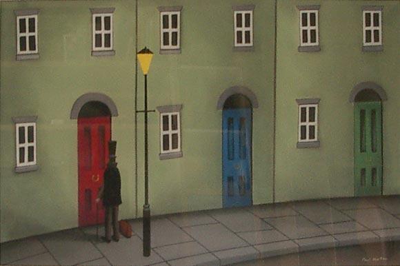 Paul Horton Gallery: Someone Knocking at my Door